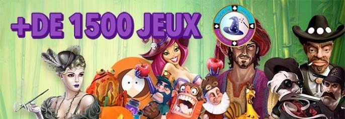 plus de 1500 jeux vous attendent sur magicalspin casino